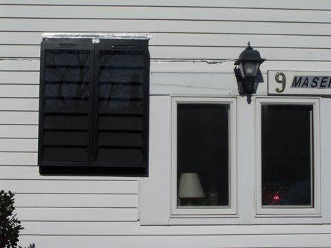Solar Air heater Marthas Vineyard