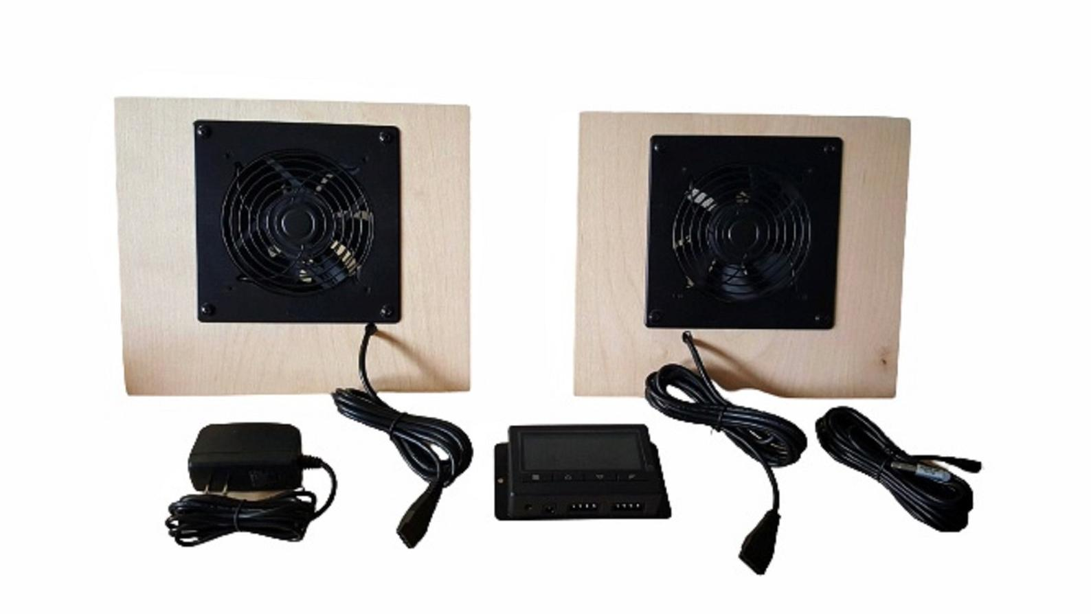 Solar Air Heater Fan with Controller