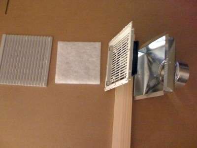Solar Air Heater Wall Vent Kit