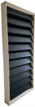 Solar Air Heater Shutters