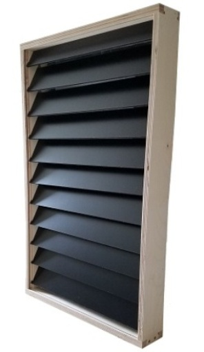 Solar Window Heater - Solar Air Heater - 16 X 32 Made in the U.S.A.