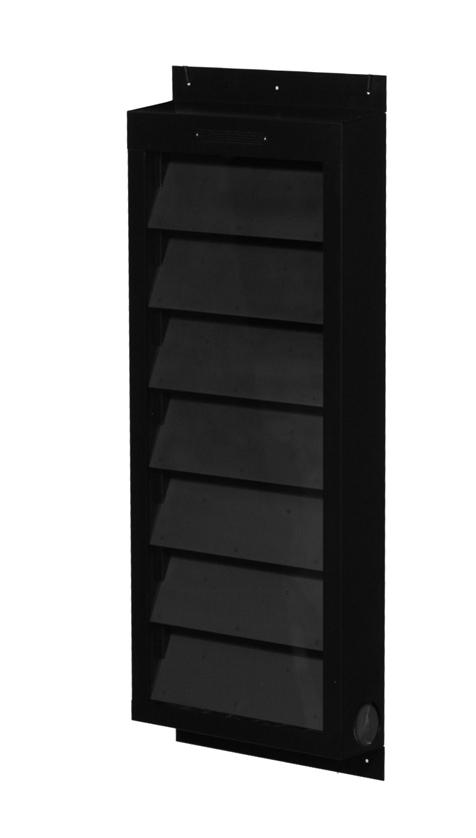solar air  heater shutter